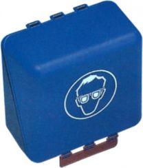 Brillenaufbewahrungsbox Midi blau