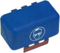 Brillenaufbewahrungsbox Mini blau