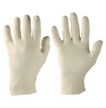 Baumwoll-Trikot-Handschuhmittelschwere Qualität
