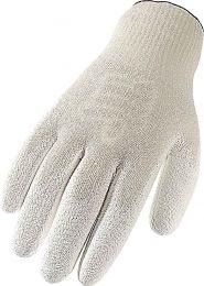 Strickhandschuhe aus Spezialfasern, weiß
