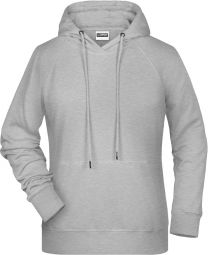 Damen Raglan Kapuzen Sweater James & Nicholson JN 8023