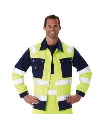 Warnschutz Bundjacke Signal 09