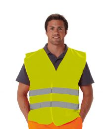 Warnweste Basic ohne Schulterstreifen