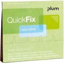 QuickFix Pflaster-Nachfüllpack Detektabel