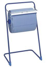 Bodenständer für Industriepapie Metall blau