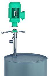 Dickstoffpumpe mit Schnell-Wechsel-Kupplung (SWK)