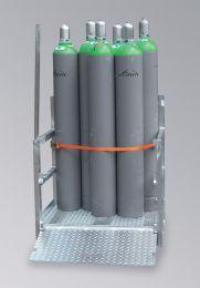 Gasflaschenpalette für 12 Flaschen a 50 kg