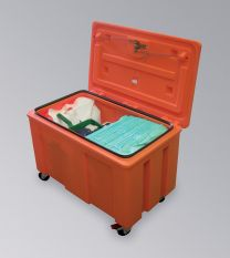 Notfalltransportbox für Öle