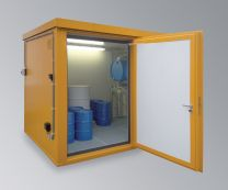 Brandschutzcontainer BSC 3-CL mit Einflügliger Tür