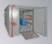 Brandschutzcontainer BSC 4-CL