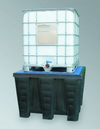 PE Wanne PE-KT-EP1 für 1 IBC-Container