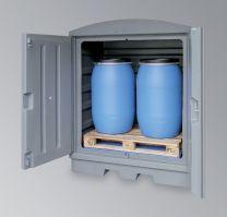 Gefahrstoffstation aus Kunststoff PE-200-EP8