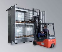 LaCont Quick-Up-Gefahrstoffcontainer QGC 2/30
