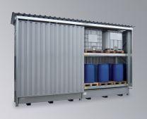 LaCont Quick-Up-Gefahrstoffcontainer QGC 2/6000