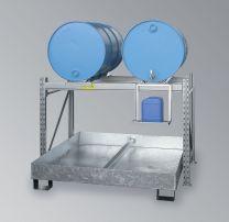 Abfüllstation für 200-Liter-Fässer